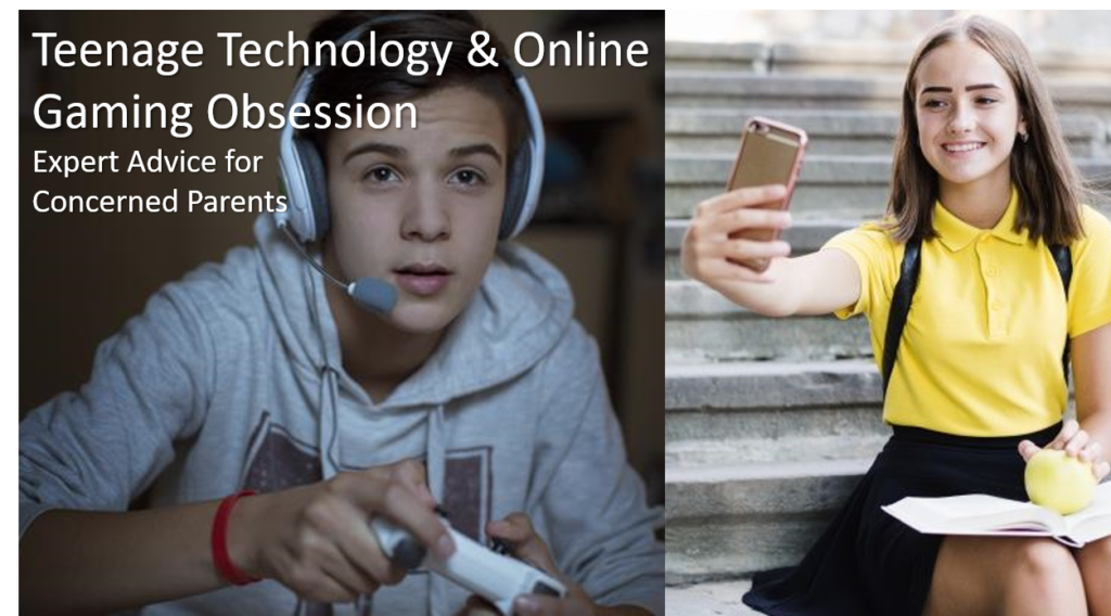 teenager techology & online gaming video obsession parenting seminar course free