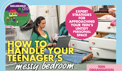 Handle Teenager's Messy bedroom New Idea Article
